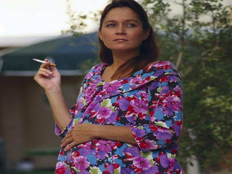 pregnant smoking fetish